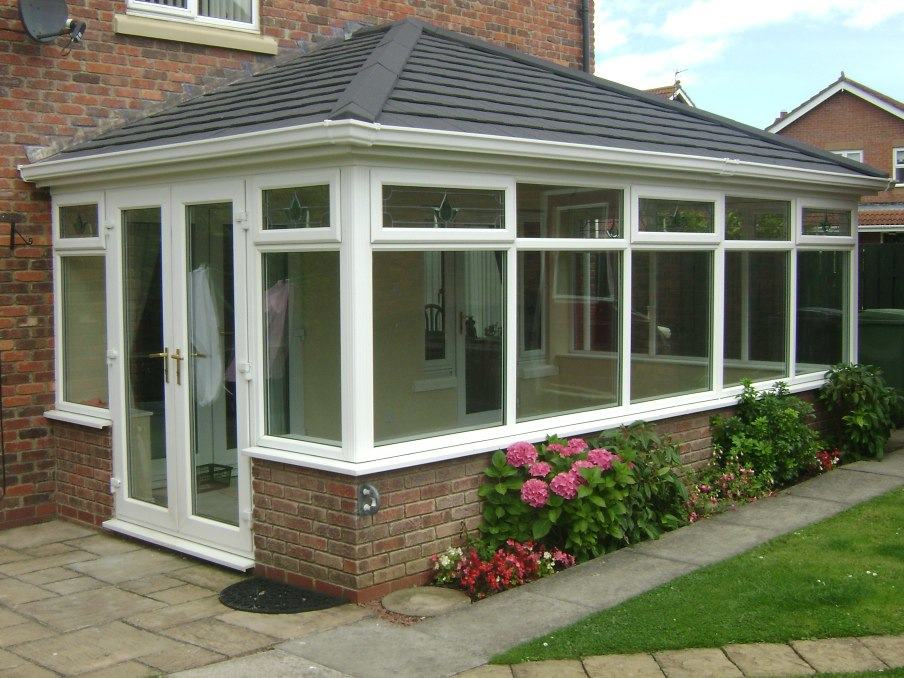 Solid roof conservatories the sunroom for House plans with conservatory