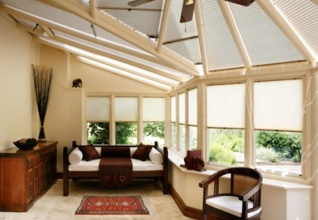 Image 3 AluPleat conservatory blinds